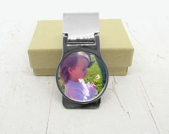 Money Clip, Personalized With Photo, Gift For Dad