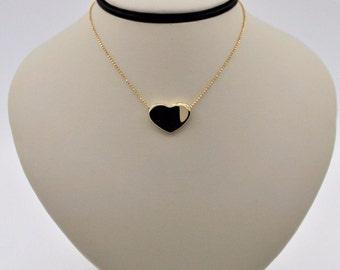 LeGi Zoccai Solid 18K Yellow Gold Heart Necklace