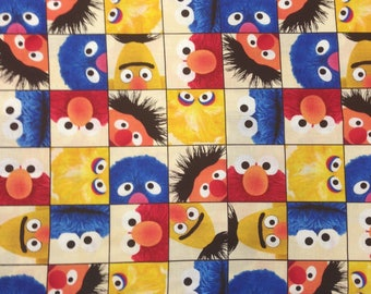 Fabric — Welcome to Sesame Street series from Quilting Treasures (5 Options)