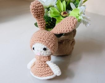 Amigurumi My Melody    Crochet Amigurumi Doll   Amigurumi Crochet and Knitting   My Melody Crochet   My Melody Doll