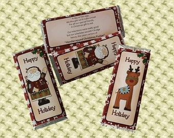 Digital Printable Hershey Candy Bar Wrapper 001