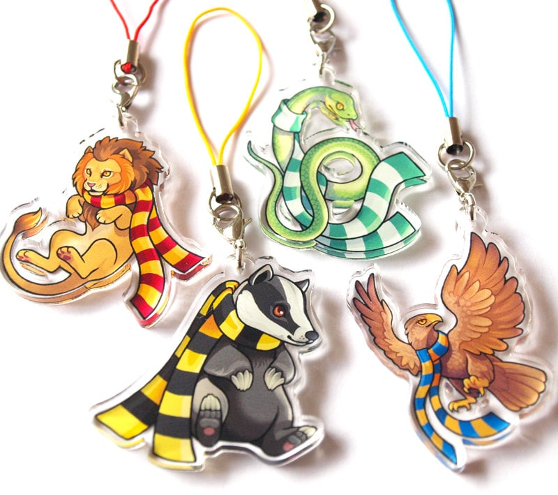 Hogwarts House Charms Gryffindor Slytherin Ravenclaw
