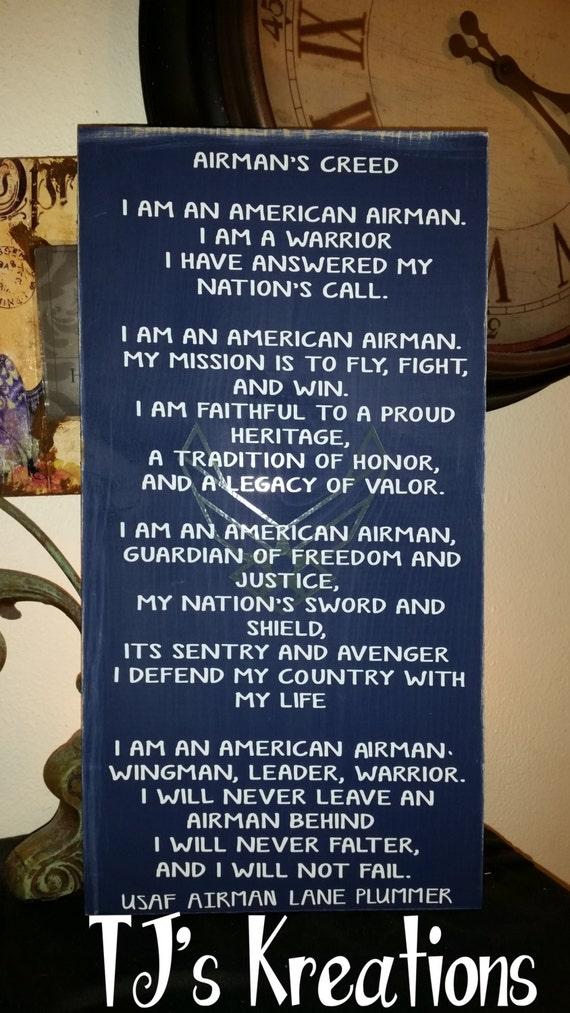 Air force usaf airman creed sign altavistaventures Images