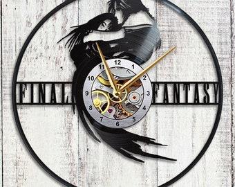 Final Fantasy viii Vinyl Clock