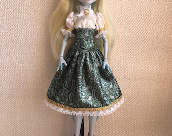 Handmade*Luxe*  Dress for Monster High Doll