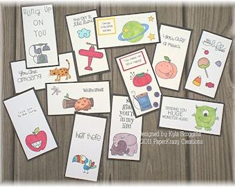 More Lunch Box Love Note Fun Series 13b