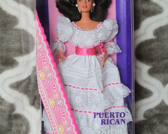 1996 Barbie Dolls of the World Puerto Rico # 16754