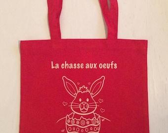 """Tote bag """"Egg hunt"""" - Easter SPECIAL"""