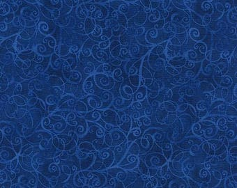 Breeze Flannel Blue - Timeless Treasures - CF4843-Blue