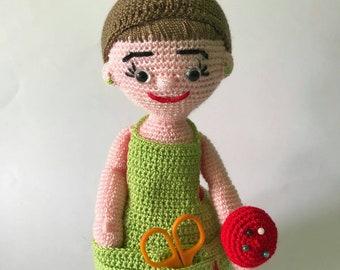 Handmade Crochet Amigurumi Doll