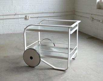 Richard Frinier for Brown Jordan Modern Bar Cart // Serving Cart