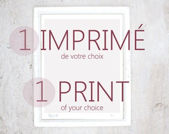 Print of your Choice | illustration art giclee print | Small poster Limited edition | Custom, Special Request