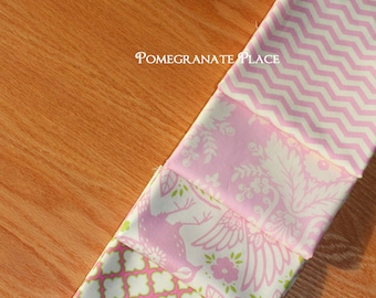 4 fat quarter  Bundle... Up Parasol ...by Heather Bailey.. pink colorway