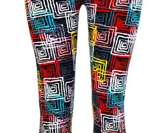 Women's Plaid Print Leggings