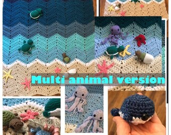 Beach blanket- includes all animals