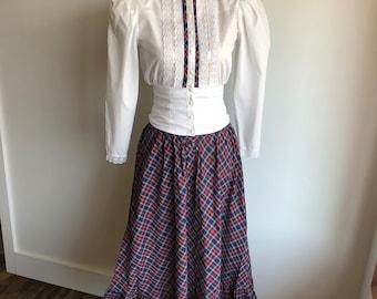 Vintage Gunne Sport Skirt/Blouse Set