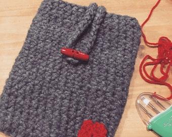 Handmade Crochet Ipad Mini Case/Cover, Kindle Case/Cover