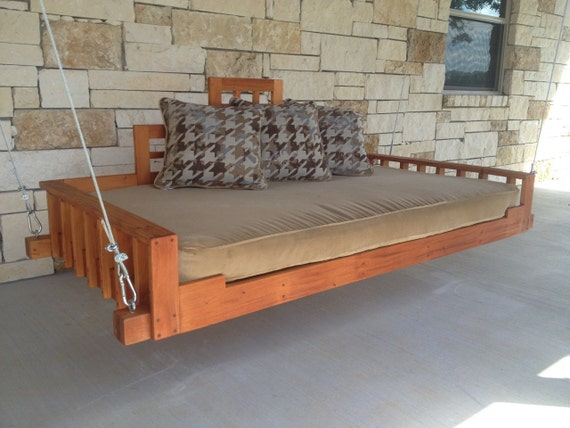 Delightful Swing Bed Porch Swing Outdoor Bed Day Bed Swing Hanging