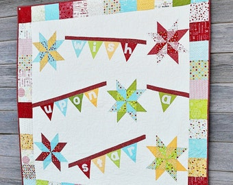 Wish Upon a Star Quilt - Featuring Sweetwater Wishes, Moda Fabric - Pattern by Lindsay Weight - DIY Kit