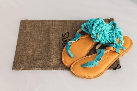 b36074e222653 lace berry Unique sandals summer in style up blue aqua xdwx5Xqr for ...