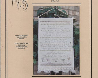 """Clearance- """"In Loving Memory"""" Counted Cross Stitch by Designs by Lisa"""