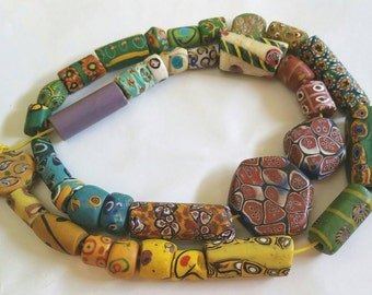 Rare and unusual Antique African Trade Bead Collection