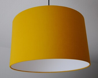 """Lampshade """"Curry yellow"""" (curry yellow)"""