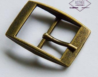 23 mm Boucle de ceinture couleur bronze