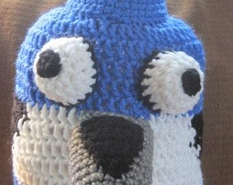 Blue Jay, Mordecai, hat, beanie, Regular Show,