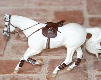 Saddle Set, Complete Jumping/GP Set for Traditional Breyer Model Horses 1:9