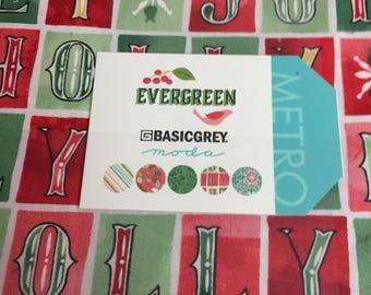 Evergreen layer cake