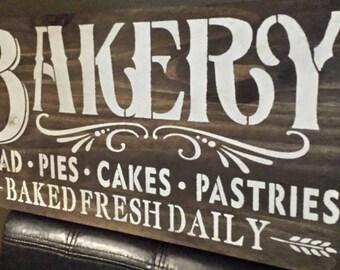 KITCHEN SIGN/BAKERY Sign/Restaurant Decor\Coffee Shop Sign/Hostess Gift