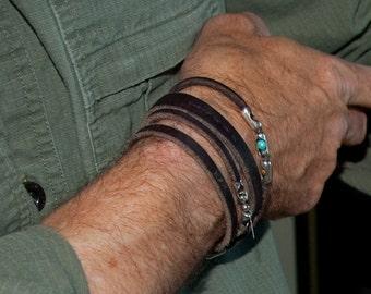 Spiral Jetty - Men's Bracelet (New Cuff Design)