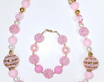 Chunky kids jewelry set