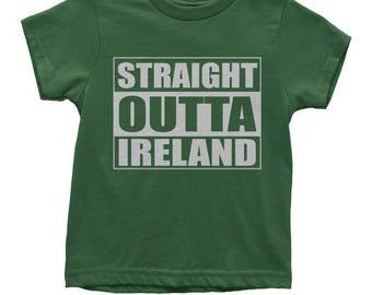 Straight Outta Ireland Youth T-shirt
