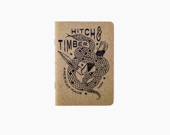 "Set of 3 - Timber Hitch Notebooks (3.5"" x 5"")"
