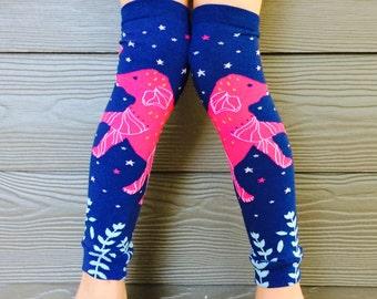 Elephant Leg, Arm Warmers for Boys and Girls - Celestial Leggings for Infant, Baby, Toddler, Kid, Tween - Great Birthday, Baby Shower Gift