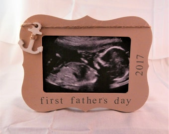 First fathers day picture frame father's day fishing gifts for dad from baby nautical gifts for men anchor