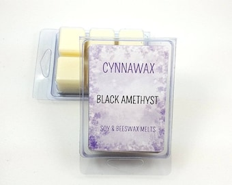 BLACK AMETHYST TYPE Soy & Beeswax Melts