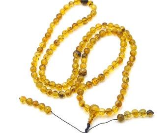 Mexican Amber Mala Prayer Beads 265092