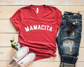 Mamacita Shirt - Funny Mom Shirt - Mom Shirt - Mama Shirt - Mother's Day Shirt - Blessed Mama - Tired as a Mother shirt