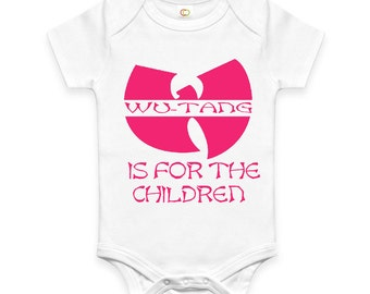 Wu Tang is for the children onesie WU TANG CLAN baby onesie creeper Various Colors available!
