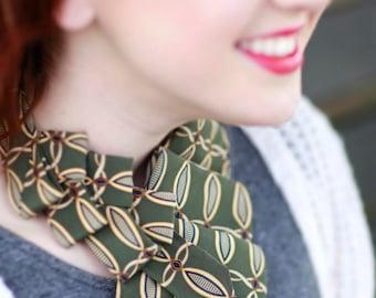 Necktie Necklace - Women's Tie - Gift For Mom - Necktie Scarf - 18