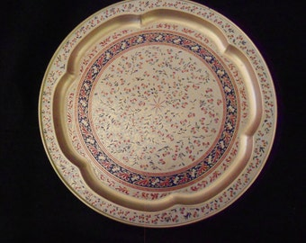 Tray/ Gold/ Morrocan Style