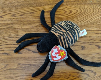 Spinner Beanie Baby with tag errors