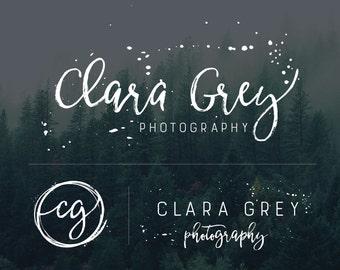 Photography Logo, Logo Design, Rustic Logo, Logo and Watermark, Business Logo, Branding Kit, Branding Set, Logo for Photographers