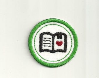 "2"" Reading Merit Badge! Custom Made!"