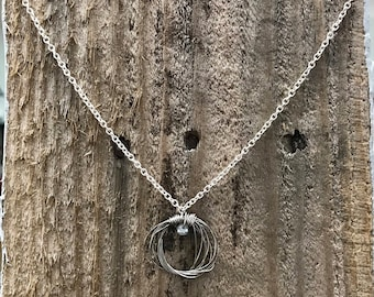 Guitar String Necklace -Psalms Collection-