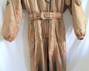 KAELIN-Ski-Suit-Snowboarding-Outdoor-Cold-Weather-VTG-Jumpsuit-Sz-6