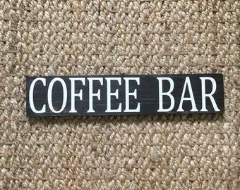 Coffee Bar Sign | Coffee Bar | Rustic Coffee Sign | Wood Coffee Signs | Coffee Sign | Coffee Station Sign | Kitchen Sign | Coffee Decor |